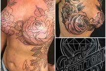 Breast tatoo