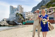 """Gibraltar Caleta Hotel Weddings / The Caleta Hotel is located on the tranquil east side of the Rock with stunning views of the Mediterranean, Costa del so land North Africa. The Hotel overlooks one of Gibraltar's finest beaches, Catalan Bay.  This is only a 10 minutes """" drive"""" away from the Registry office/ City Center.  See bellow our packages:  http://www.sweetgibraltarweddings.com/wedding-packages"""