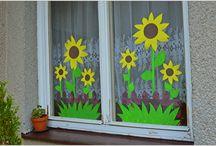 dekorace okna