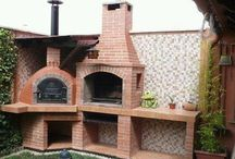 Braai and pizza oven