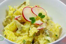 Salate & Snacks / Einfache, vegane Rezepte größtenteils mit Zutaten, die man in jedem Supermarkt finden kann.