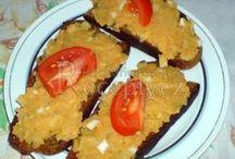 Recepty pomazánky, saláty