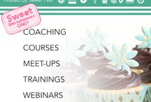 Sweet Success Project: Sweet Business Training Courses / The Sweet Success Project is a business training Program for Sweet Entrepreneurs powered by Sweet Fest. Courses coming December 2015. #baking #bakery #sweets #cooking #homebaker #baker