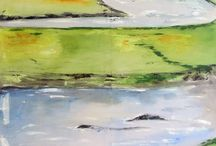 Malerier store 100x150cm / Et udpluk af store malerier fra mit galleri ceb.
