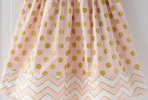 Girls sewing patterns