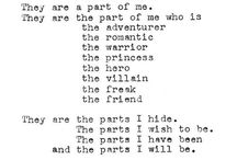 parts of who i am