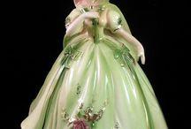 porcelan figurines