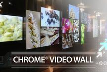 VIA Chrome Video Wall / VIA Chrome® Video Walls are a core component of VIA Smart City Platforms, which also include digital signage, VIA AirTalk™ beacon technology, and cloud-based management solutions. They have already experienced considerable success in Taiwan helping to transform experiences in a number of leading cinemas, hotels, shopping centers, transportation hubs and retail stores including the Breeze Center located in the heart of Taipei's fashion district.