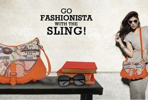 Go Fashionista With the Sling!!  / Desire to go fashionista with a lightweight, compact and stylish bag? This bright colored cruelty-free sling bag from Baggit allows you to hold your daily essentials and carry it with ease. Baggit offers a range of products; from belts, wallets, clutches, slings to handbags which sport cute embellishments in a wide spectrum of colours. Carry this trendy and fashionable crossbody bag and stand out! Log on to www.baggit.com.