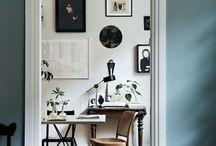 Kontor (hjemme) / home office / bureau