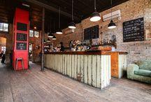 Restoran and Bar concept.