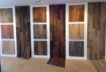 Wandbekleding / Oud hout voor op de wand of vloer.