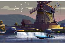 Illustration ----- Backgrounds