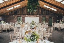 Country Barn Wedding Inspiration / If you're thinking of having a country barn theme for your wedding, then this board will give you inspiration on every element, including the bride's dress, food options, flowers, decorations, cake and, importantly, the groom's wedding suit.