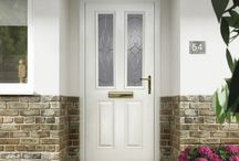 Colourful Composite Doors / Brand new range of beautifully coloured front doors