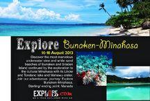 Explore Bunaken, Siladen & Minahasa [operator :Explore Solo] / Explore Bunaken, Siladen & Minahasa August 16 - 18, 2013 Link : http://triptr.us/r8