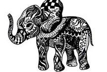 Henna and Tattoo Ideas / by Krista Kamke