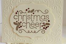 Stampin UP Christmas Cheer