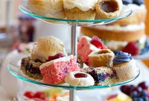 Afternoon Tea / Serving ideas, recipes and decoration.