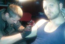 my tattoo by work igor vizi..in progres / In progres