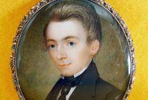 Antique Portrait Miniatures