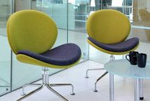 Contemporary Office Seating / Are you looking for ergonomic back support chairs with adjustable back lumbar support and multi-functional armrests?  A lot of staff suffer from back pain and this is often related to work station positioning. Our workplace chair assessments will ensure these requirements in compliance with Occupational Health Regulations.
