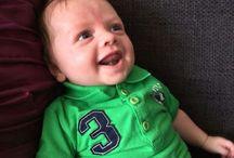 mijn kleinzoontje Ryan