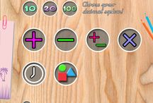 Math 2.0 Kids app - numbers, forms and the clock / numbers, forms and the clock