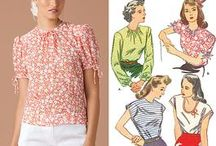 Sewing Patterns / by Mid-Century MacGyver