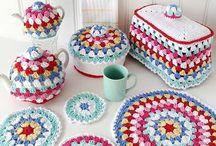 Kitchen set Crochet