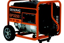 Portable Generators / Generac Portable Generators provide power when and where you need it. 800 W to 17500 W (17.5 kW). From tailgate parties to construction sites, Generac's rugged, dependable portable generators are designed to deliver reliable power wherever you are.
