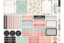 planner stickers printable free