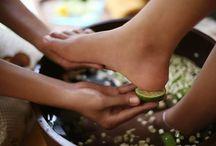 herbal foot bath - ποδόλουτρα