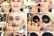 helloween make-up