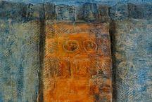 Art cold wax / Art  / by Irene Magee
