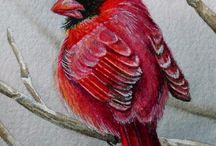 Porzellan Vögel