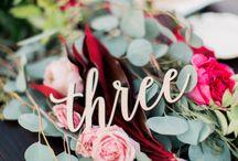 Rustic Wedding Bliss / Enchanting romantic wedding inspiration