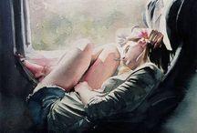 Watercolors :3