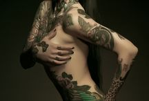 Beautiful Tattooed Women