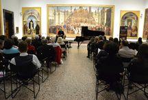 Musica a Brera per Expo2015: concerto di Andrea Bacchetti / Il pianista Andrea Bacchetti ha riempito di note e magia la Pinacoteca di Brera, regalandoci grandi emozioni.