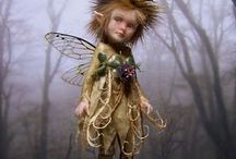 Art Dolls / Different types of dolls but mostly fairies. / by Roberta Smith