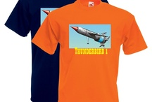 Thunderbirds T-Shirts / Personalised Thunderbird T-Shirts! Available in several colours & Sizes! Surprisingly only £14  http://hokeycokey.biz/t-shirts/tv-film.html