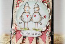 The Cats Pajamas Cards / by Cindi Hall