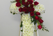 Sympathy Flowers from Apple Blossoms / Sympathy and Tribute arrangement for Memorial Services