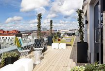 Scandic Hotels rooftop terraces and cafés / At this time of year in Sweden we love to sit outside and relax under the sun! Check out our rooftop terraces and open-air cafés at Scandic Hotels in Sweden. Welcome to stay with us!  scandichotels.com / by Scandic Hotels