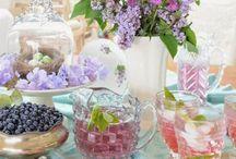 Receber / sobre convidar e receber, festas e decorações