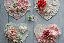 Coeurs Coussins Livres MARIAGE