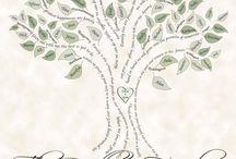family tree ideas / by Maggie Scott