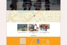 Веб-дизайн / Мои работы для веб-студии 7-line