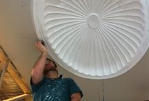 Rosette & Dome Installations / Pictures of our work including Rosettes and Domes